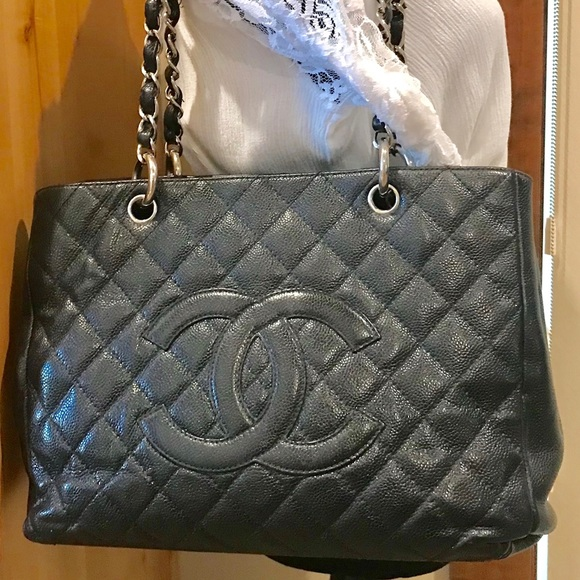 2dd917ac808eae CHANEL Handbags - ‼️CHANEL ‼️CAVIAR GRAND SHOPPING TOTE GST 💯Auth